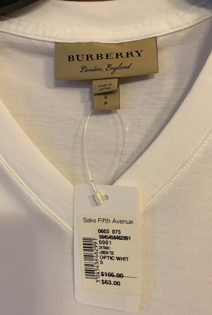 Burberry T Shirt white Image 3
