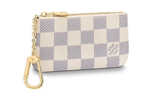 Preload https://img-static.tradesy.com/item/25990500/louis-vuitton-white-key-pouch-azur-damier-wallet-0-0-540-540.jpg