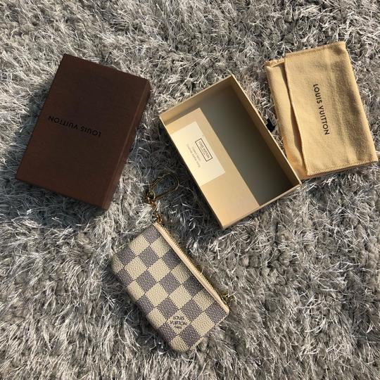 Louis Vuitton LOUIS VUITTON AZUR DAMIER KEY POUCH WALLEY Image 1