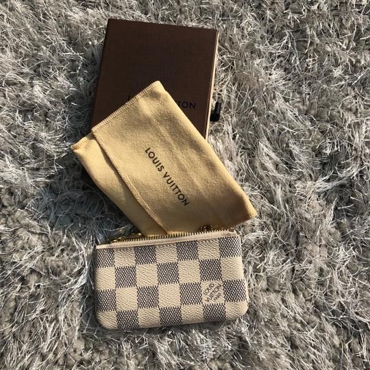 Louis Vuitton LOUIS VUITTON AZUR DAMIER KEY POUCH WALLEY Image 2