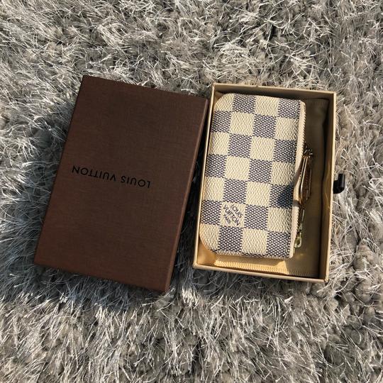 Louis Vuitton LOUIS VUITTON AZUR DAMIER KEY POUCH WALLEY Image 4