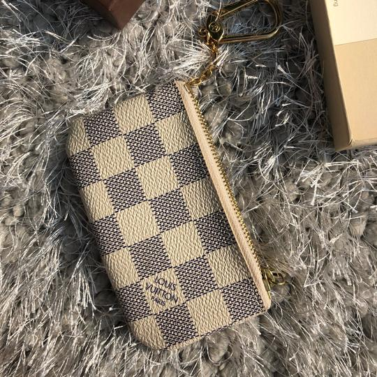 Louis Vuitton LOUIS VUITTON AZUR DAMIER KEY POUCH WALLEY Image 5