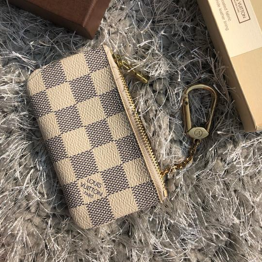 Louis Vuitton LOUIS VUITTON AZUR DAMIER KEY POUCH WALLEY Image 7