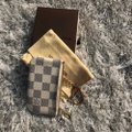 Louis Vuitton LOUIS VUITTON AZUR DAMIER KEY POUCH WALLEY Image 8
