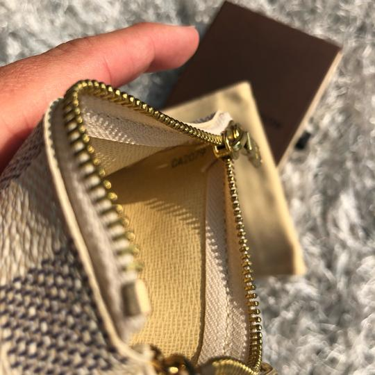 Louis Vuitton LOUIS VUITTON AZUR DAMIER KEY POUCH WALLEY Image 9