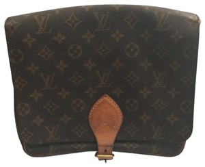 Louis Vuitton brown monogram Messenger Bag