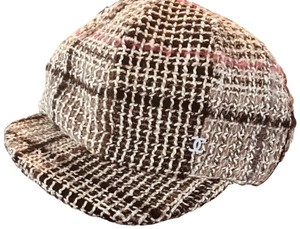 Chanel NEW Tweed Casquette Newsboy