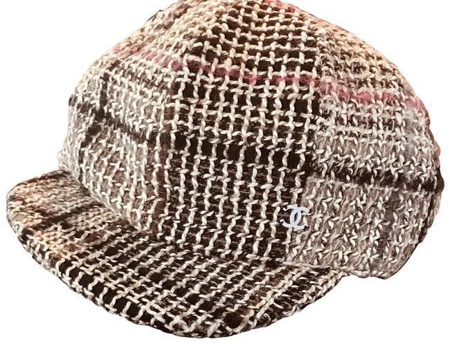 Item - Multicolor New Tweed Casquette Newsboy Hat