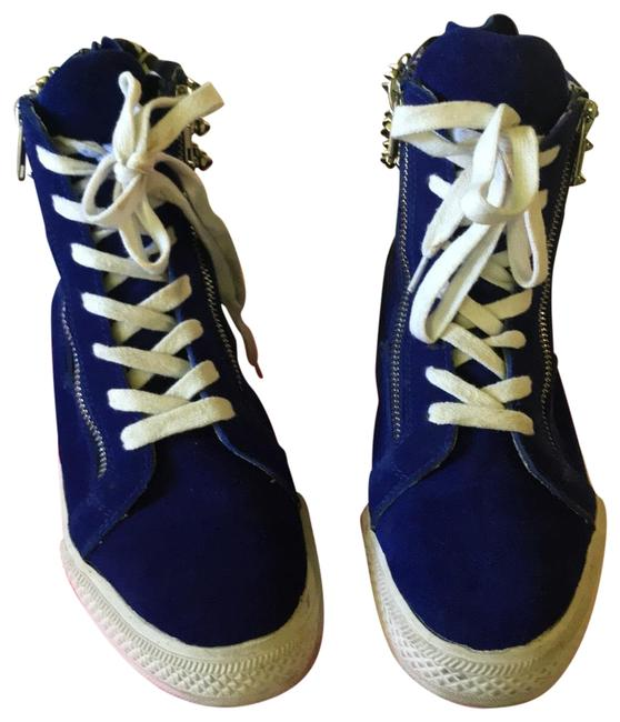 Betsey Johnson Royal Blue Sneakers Size US 7 Regular (M, B) Betsey Johnson Royal Blue Sneakers Size US 7 Regular (M, B) Image 1