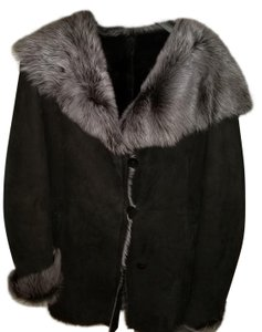 Blue Duck Fur Coat
