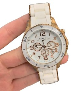 Marc by Marc Jacobs Rose gold and white Marc Jacobs watch