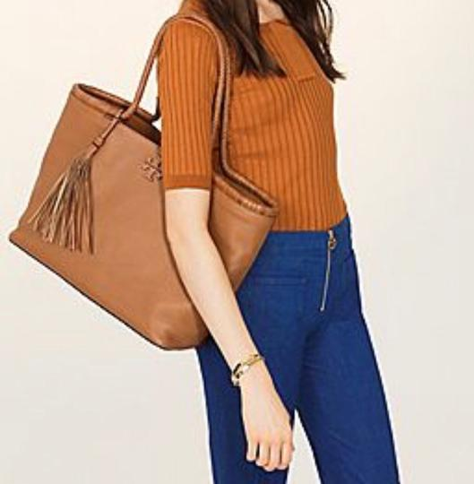 Tory Burch Tote in Saddle Image 1