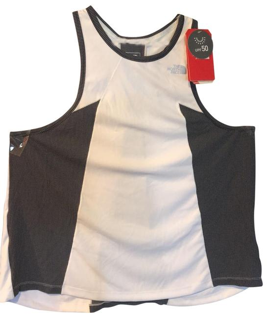 Item - Black and White W Ambition Tank Activewear Top Size 14 (L)