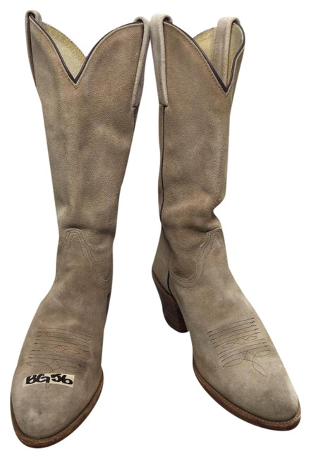 Item - Beige Women's Billy Pull-on Boots/Booties Size US 8 Regular (M, B)
