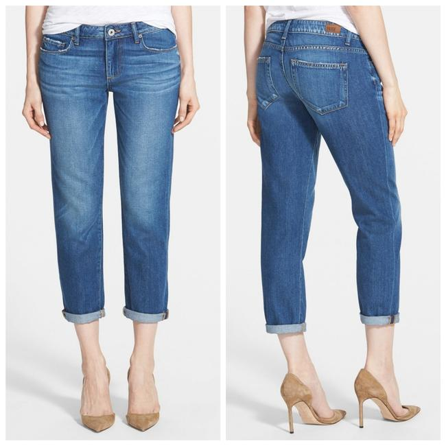 Item - Blue Medium Wash Jimmy Jimmy Crop Nordstrom Exclusive Quincy Capri/Cropped Jeans Size 31 (6, M)