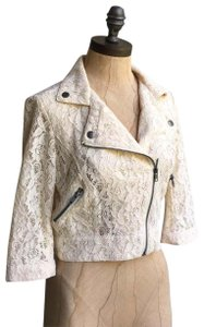 Kirra Moto Lace Cropped People Anthro Madewell Motorcycle Jacket