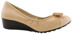 Cole Haan Ballerina Slip On Pumps Emory Flats Nude Wedges