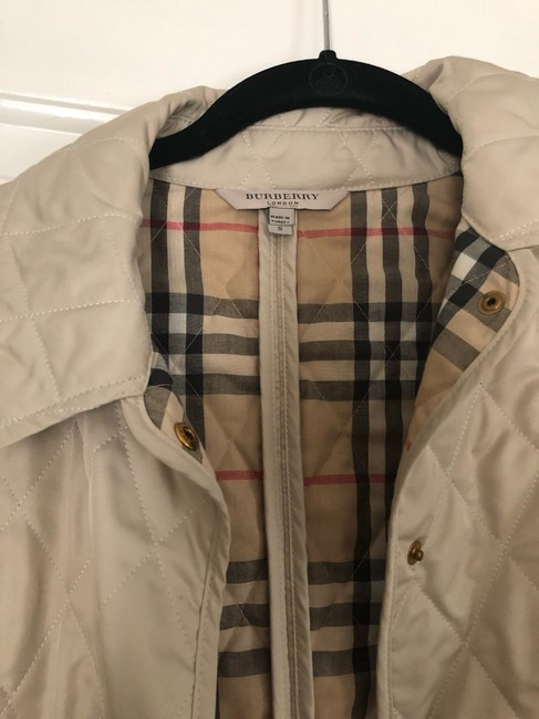 Burberry cream Jacket Image 1