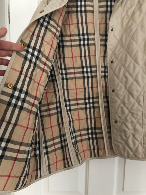 Burberry cream Jacket Image 2