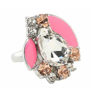 Kate Spade Kate Spade * Frosty Floral Silver Ring