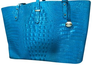 Brahmin Tote in Turquoise