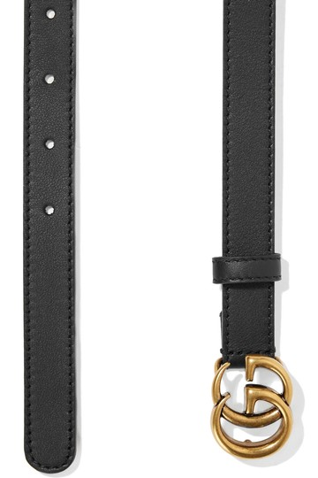 Gucci GG Double G Black Belt Size 85 Image 3