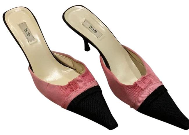 Item - Black Pink Vero Cuoio Heels Pumps Size EU 37 (Approx. US 7) Narrow (Aa, N)