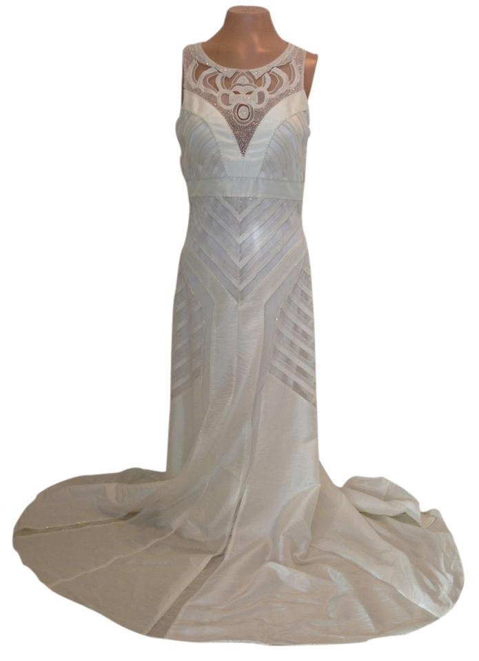 Sue Wong White Nocturne Formal Dress Size 8 (M) - Tradesy