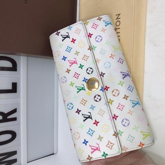 Louis Vuitton murakami Sarah Multicolore Monogram Long wallet Image 1
