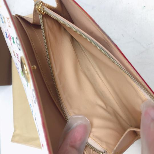 Louis Vuitton murakami Sarah Multicolore Monogram Long wallet Image 10