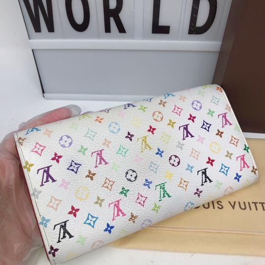 Louis Vuitton murakami Sarah Multicolore Monogram Long wallet Image 2