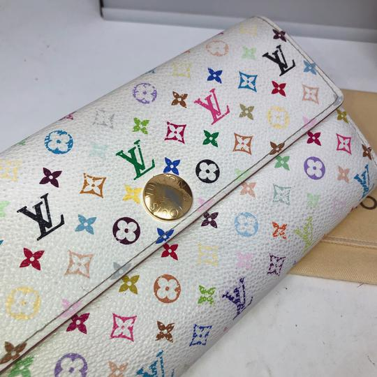 Louis Vuitton murakami Sarah Multicolore Monogram Long wallet Image 5