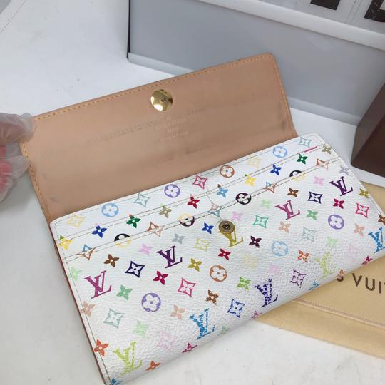 Louis Vuitton murakami Sarah Multicolore Monogram Long wallet Image 6
