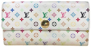 Louis Vuitton murakami Sarah Multicolore Monogram Long wallet