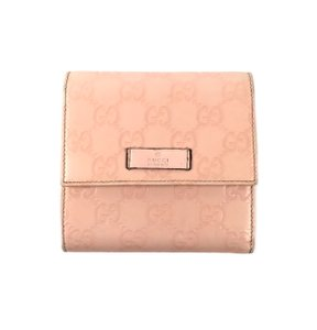 Gucci Leather Monogram Wallet