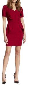The Kooples short dress Red on Tradesy