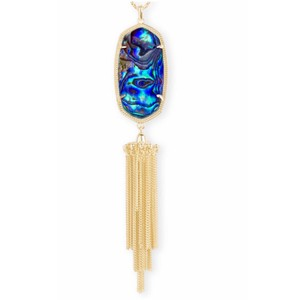 Kendra Scott KENDRA SCOTT Rayne Abalone Long Tassel Necklace