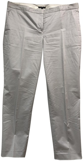 Item - Gray Cropped Summer Twill Pants Size 10 (M, 31)