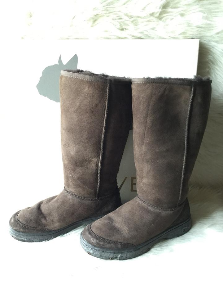designer fashion e5c4b 387f5 UGG Australia Chestnut Women's Ultra Tall Revival Boots/Booties Size US 7  Wide (C, D) 66% off retail