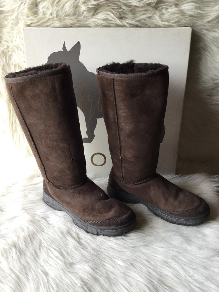 huge selection of 5fe0d 513f4 UGG Australia Chestnut Women's Ultra Tall Revival Boots/Booties Size US 7  Wide (C, D) 70% off retail