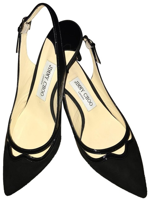 Item - Black Harrison 65 Slingback Pumps Size EU 39 (Approx. US 9) Regular (M, B)
