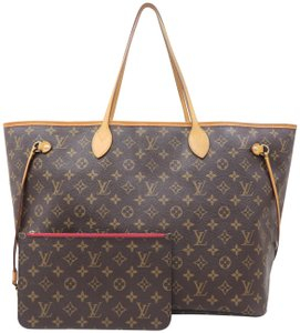 Louis Vuitton Monogram Canvas Neverfull Gm Shoulder Bag