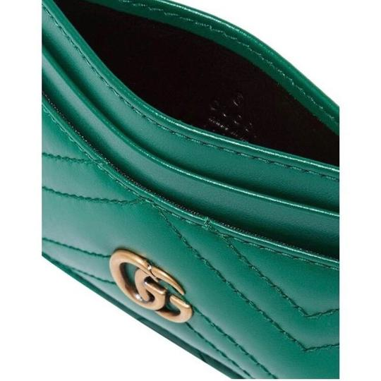 Gucci Marmont GG quilted leather card holder case Image 1