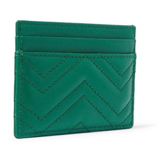 Gucci Marmont GG quilted leather card holder case Image 2