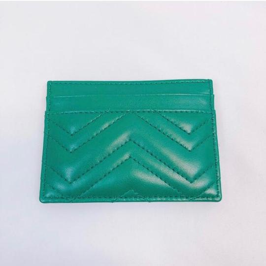 Gucci Marmont GG quilted leather card holder case Image 4