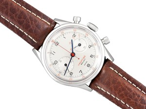Gallet 1940's Gallet Multichron Yachting Vintage Mens Large Size Chronograph