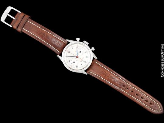 Gallet 1940's Gallet Multichron Yachting Vintage Mens Large Size Chronograph Image 7