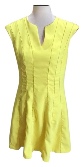 Preload https://img-static.tradesy.com/item/25994735/ted-baker-yellow-skater-short-casual-dress-size-8-m-0-1-650-650.jpg