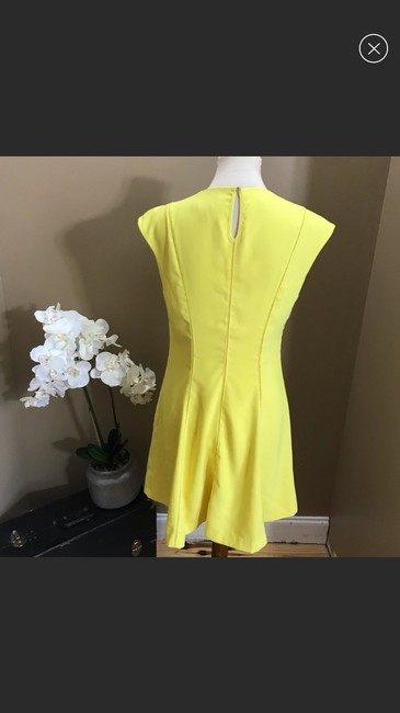 Ted Baker short dress yellow on Tradesy Image 1
