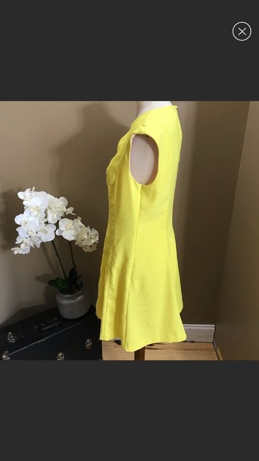 Ted Baker short dress yellow on Tradesy Image 2